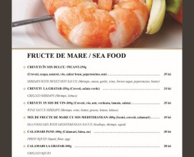 Fructe de mare