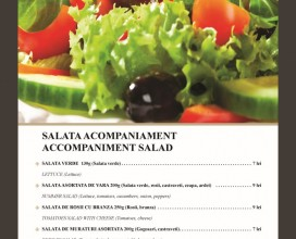 Accompaniment salads