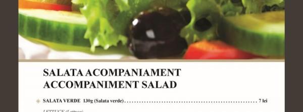 Accompaniment salads
